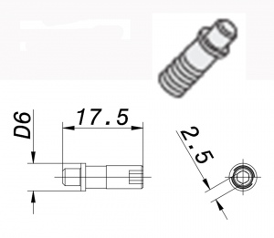 PIN SCREW: WSS 33 for NEG TOOL