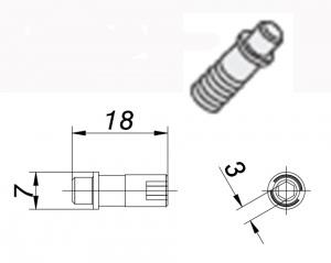 SHIM PIN: WSS 43 NEG T/HOLDER