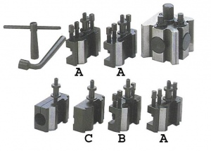 QUICK CHANGE TOOL POST: QCT-6602-6 = 4 HOLDERS