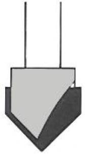 ROUTER BIT: VG84   12.0MMX1/4