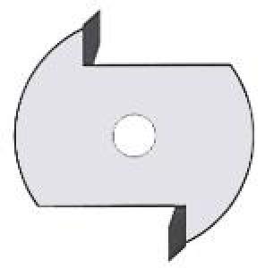 SLOT CUTTER: SL332  2.5MMX1/4