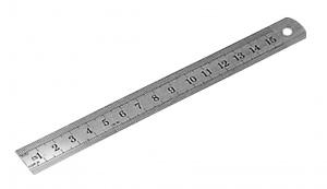 RULER: SKODA 300 X 25 X 1MM METRIC