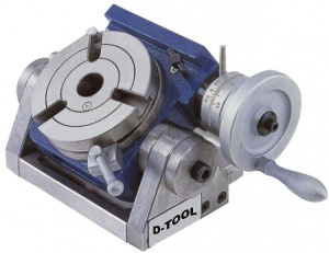TILTING ROTARY TABLE: TSK-100 3