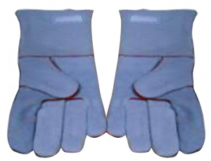 RUBBER GLOVES: W285 X L660MM GRANULATED SURFACE