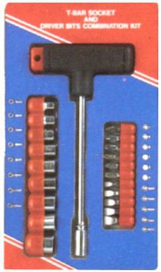 T BAR MAGNETIC DRIVER SET: 22PC