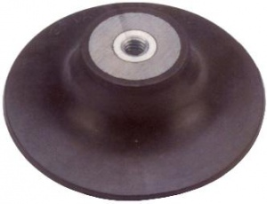 BACKING PAD: 180MM RUBBER