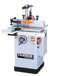 SPINDLE MOULDER: TANNER 1.5HP 1PH S/TABLE