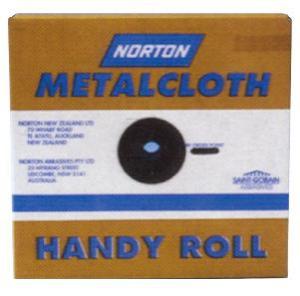 EMERY CLOTH: NORTON 40G 40X50M
