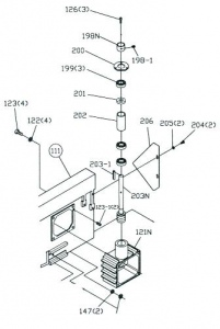 UE-712G: #121 GEAR BOX