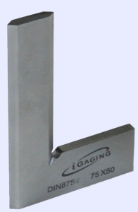 SQUARE: BEVEL EDGE DASQUA 25 X 20.0MM STAINLESS