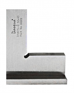 SQUARE: FLAT EDGE 75 X 50MM DASQUA STAINLESS