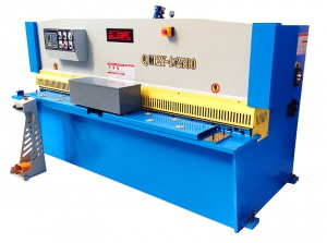 HYDRAULIC GUILLOTINE: BENZEL 4MM X 2500MM