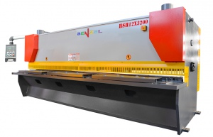 HYDRAULIC GUILLOTINE: HSH 12MM X 3200MM VARIABLE RAKE