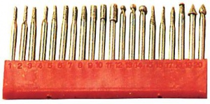DIAMOND POINT SET: 20PC 3MM SHANK