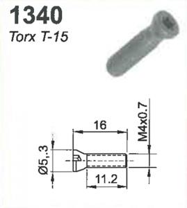 SCREW: M3.5 X 0.7 X 11.25MM  (TORX-15)
