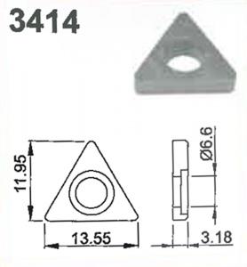 SHIM: TRIANGULAR #3414