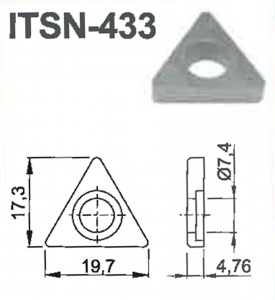 SHIM: #ITSN-433 TRI-D STYLE TOOL