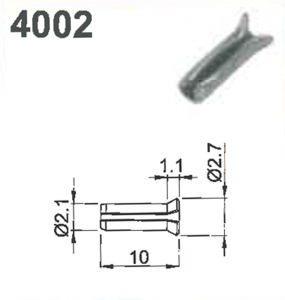 SHIM PIN (10X2.1)#4002