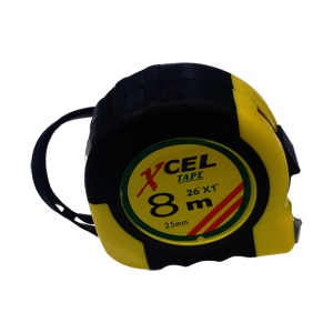 TAPE MEASURE: 8M X  25MM XCEL