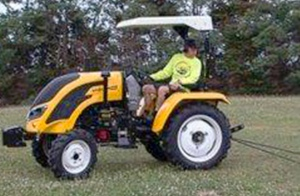 TRACTOR: VISION VM-404 40HP 4/WHEEL DRIVE