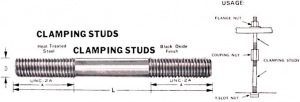 CLAMPING STUD: 4