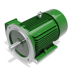 ELECTRIC MOTOR: 3KW 3PH 4 POLE FLANGE MOUNT