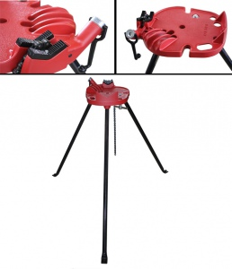 PIPE VICE WITH STAND: RANGE 1/8