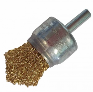ROTARY SPINDLE WIRE BRUSH: 40.0 X 10.0 X 6.0MM