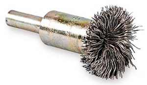WIRE BRUSH: ROTARY SPINDLE  D24