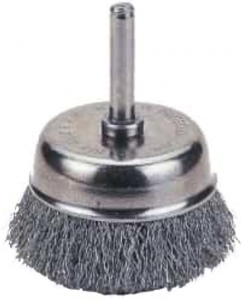 WIRE CUP BRUSH: 40.0MM X 6.0MM