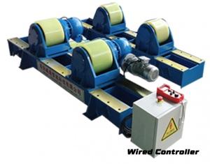 WELDING ROTATOR SET: 5 TON 200-2500MM POWERED + IDLER