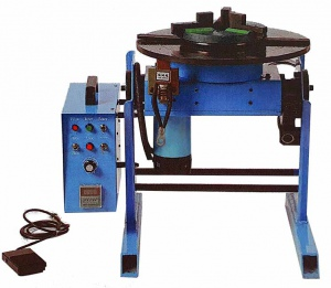 WELDING POSITIONER: 400MM TABLE, 200MM CHUCK