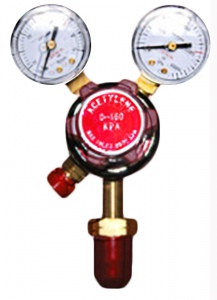 REGULATOR: ACETYLENE WITH GAUGE
