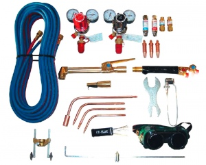 WELDING SET: UNIFLAME WELDING & CUTTING OXY/ACT