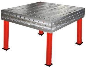 WELDING TABLE: 3D 1000 X 1000 X 200MM 28.0MM 4 LEGS
