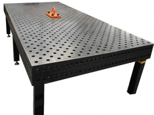 WELDING TABLE: 3D 3000 X 1500 X 200MM 28.0MM 6 LEGS