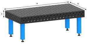 WELDING TABLE: 3D 2000 X 1000 X 200MM CT