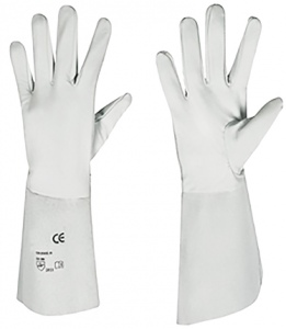 GLOVES: WELDING 400MM LEATHER MIGMASTER LARGE