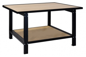 WELDING WORK BENCH: 2100 x 1200 x 900 + SHELF