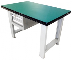 WOODEN TOP WORK BENCH: ADJ1202JK-HF 1200 x 750 x 800