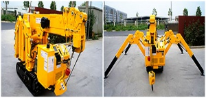 CRANE: MINI CRAWLER 3 TON CAPACITY