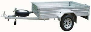 TRAILER: 1800 X 1200 X 300MM GALV BOX TYPE