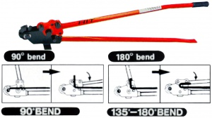 RE-BAR BENDER-CUTTER: 16MM CAPACITY HIT MANUAL