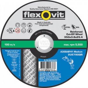C/O WHEEL: 300 X 3.0 X 25.4MM FLEXOVIT STAINLESS