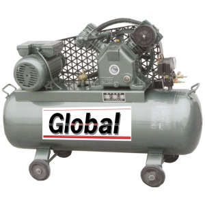 COMPRESSOR: GLOBAL 90LTR  5.5HP 3PH