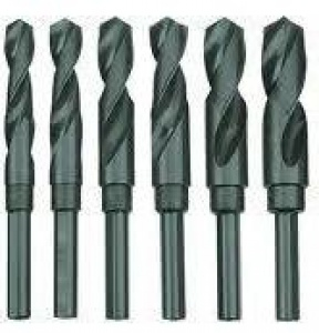 REDUCED SHANK DRILL SET: 13-28MM 6PC