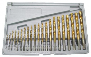 DRILL SET: ETS 1.0 - 10MM COBALT M35 19PC ETS