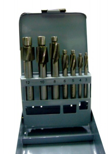 COUNTER BORE SET: M3-M12 7PC SET