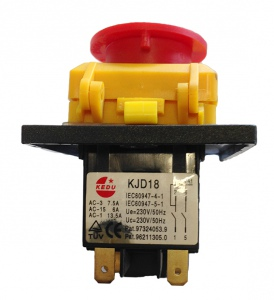 SWITCH: KJD18-6A  6AMP 230V/50HZ ELECTROMAGNETIC