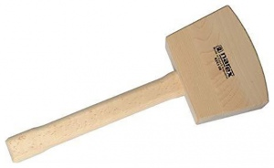 WOOD MALLET: NAREX 60 X 75MM FACE